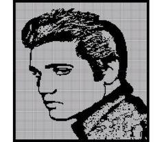 Elvis Presley Crochet Pattern Afghan Graph