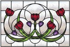 stained glass patterns transom   Free Stained Glass Patterns on the Web
