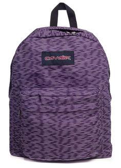 Mochila escolar Cavalier estampada stripes - Enluaze Loja Virtual | Bolsas, mochilas e pastas