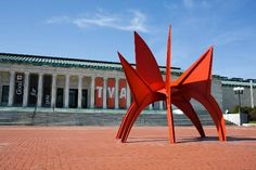 """Toledo Museum of Art - Toledo, OH. My husband helped move that """"thing"""" there with Ironworkers Local 55."""