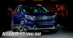 Refleja tu personalidad con un diseño más fuerte, robusto y moderno. Ahora con Faros LED de auto apagado y autoencendido. #IncomparableCRV 2017