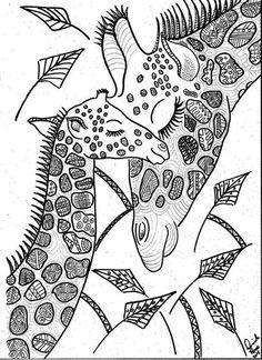 giraffe coloring pages  giraffe coloring pages printable
