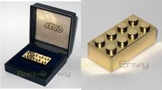 Imagine getting to spend 25 years playing with Legos as a job then getting a very expensive gold Lego brick as a reward.