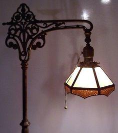 rose dome downbridge floor lamp 10057 757 lights pinterest rh pinterest com rewire vintage floor lamp Table Lamps