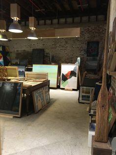 Gallery stock room Boom gallery Geelong 2016
