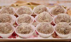 Desszert golyók karácsonyra: 3 recept, pár perc alatt! - Receptneked.hu - Kipróbált receptek képekkel Krispie Treats, Rice Krispies, Drink, Food, Beverage, Essen, Meals, Rice Krispie Treats, Yemek