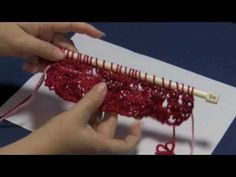 Knitting with Lifelines. This video may give me the courage to try lace knitting!!!!