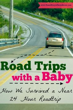 Surviving road trips with a baby! These tips worked for us!