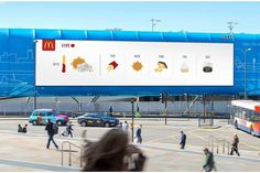 McDonald's Turned 8 Popular Menu Items Into Weather Icons for These Real-Time Billboards Online Marketing Services, Best Digital Marketing Company, Seo Services, Weather Update, Time And Weather, Ads, Mcdonalds, Five Day Forecast