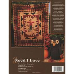 ded844e390 Falloween Threads NeedleArts Book - Need L Love