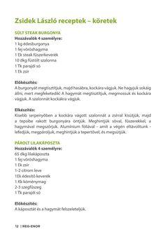 Zsidek-Laszlo-Reg-Enor-receptek.indd Steak, Steaks