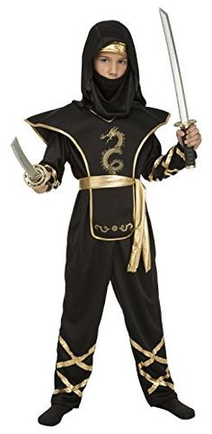 My Other Me Me-204885 Disfraz de Ninja para niño, Color Negro, 5-6 años (Viving Costumes 204885) Ninja Party, Star Wars Shop, Alan Walker, Funko Pop Vinyl, Marvel Dc Comics, Color Negra, Costumes, Twins, Party Ideas