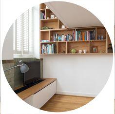 Slim Bookcase, Bookshelves, Plywood Kitchen, Kitchen Wood, Kitchen Ideas, Kitchen Cabinets, Plywood Furniture, Office Furniture, Wall Shelves