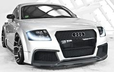 Ok, the purple is cool and all on the other but I just love the white1!! Audi tt
