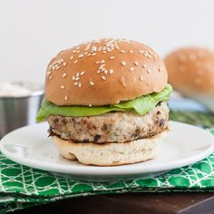 Chicken Burgers with Garlic-Rosemary Mayonnaise by Traceys Culinary Adventures, via Flickr