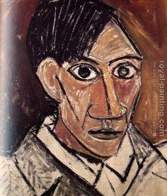 Pablo Picasso - self-portrait