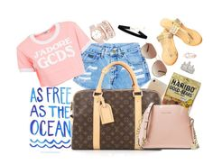 """""""22nd Bday beach trip Sep1st-4th Labor Day Weekend"""" by pocketfullofglitter ❤ liked on Polyvore featuring GCDS, Mimi Holliday by Damaris, Kate Spade, Cartier, Charlotte Tilbury, Rodin, La Perla, Accessorize, Tory Burch and Chicwish"""