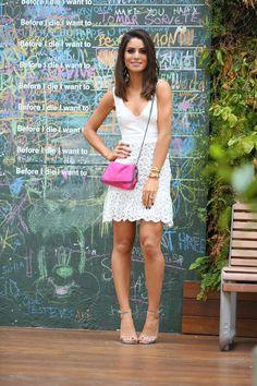 Super Vaidosa » My Look: White Dress in São Paulo!