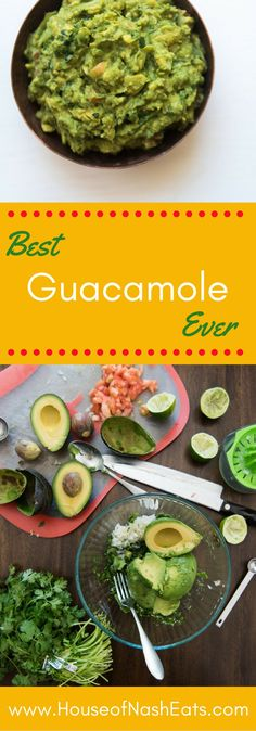 This chunky guacamole is easy, authentic, fresh, and unbelievably…