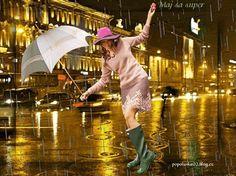 Rain, Fashion, Rain Fall, Moda, La Mode, Fasion, Waterfall, Rain Photography, Fashion Models