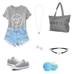 """""""Beach style!"""" by nbacovska on Polyvore featuring Old Navy, Converse, Dorothy Perkins, Vivienne Westwood, FOSSIL, Eos and O'Neill"""