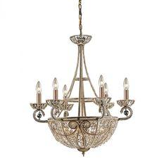 10 Light Chandelier In Dark Bronze : 64M8 | Annapolis Lighting