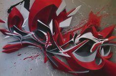 Splashes and stains by Peeta EAD RWK, via Behance Graffiti Words, Graffiti Writing, Graffiti Pictures, Best Graffiti, Graffiti Lettering, Graffiti Art, Graffiti Designs, Graffiti Styles, Line Art