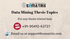 data mining research topics