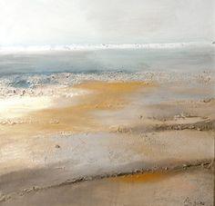 "Saatchi Art Artist: Andrea Becker-Aschauer; Mixed Media 2010 Painting ""impressions 1.2"""