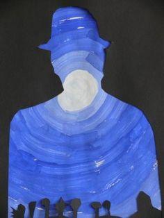 Le Site de l'Ecole des Estelles Mandeure - Galerie d'Art - CM - A la manière de Magritte