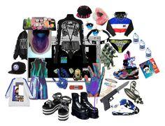 """KILL VS MAIM"" by brainmelt ❤ liked on Polyvore featuring StyleNanda, Irregular Choice, Illustrated People, Iron Fist, Rock Rebel, Accessorize, Acne Studios, Chicnova Fashion, Anya Hindmarch and Mishka"