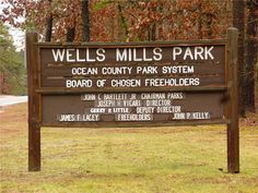 Wells Mills Park, Waretown NJ
