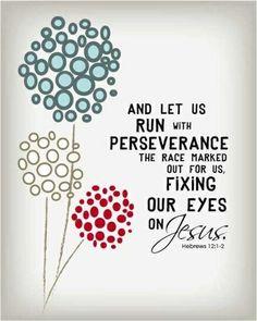 Fix your eyes on Jesus ❤