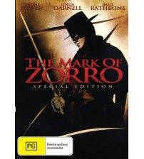 The Mark Of Zorro, starring Tyrone Power, Linda Darnell & Basil Rathbone. This genre-defining swashbuckler was the first movie version of The Mark of Zorro. #basilrathbone #tyronepower #markofzorro Film Classics - AU$10.