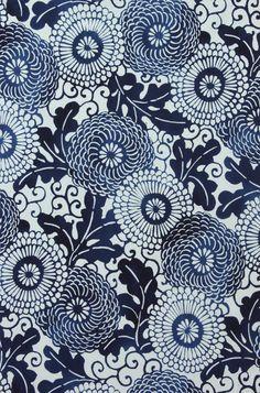 Alexander Henry Fabric tatouage teinte//Rouge//Bleu Demi Mètre