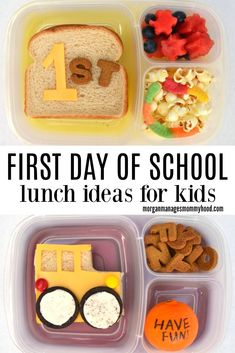 Whether you're in middle school, high school, university Back To School Breakfast, Kids Lunch For School, School Snacks, Creative School Lunches, Toddler Meals, Kids Meals, Kosher Lunches, First Day Of School, Middle School