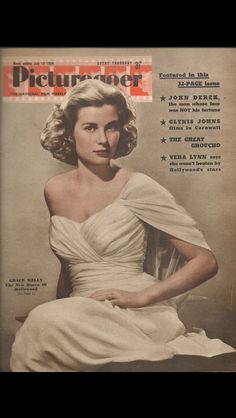 Grace Kelly magazine cover- 10 July 1954