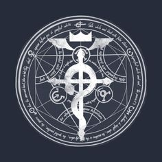 Shop FMA full metal alchemist t-shirts designed by Wimido as well as other full metal alchemist merchandise at TeePublic. 鋼の錬金術師 Fullmetal Alchemist, Alchemy Symbols, Crypto Coin, Anime Tattoos, Purple Wine, Novelty Shirts, Cthulhu, Learn To Draw, Sacred Geometry