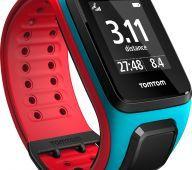 TomTom Runner 2 Scuba Blue/Red (L)
