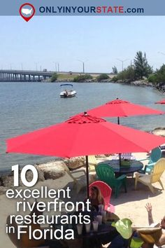 Travel | Florida | Restaurants | Food | Dining | Places To Eat | Hidden Gems | Attractions | Riverfront Restaurants | Riverfront | Waterfront | USA