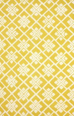 Tuscan Trellis VS75 Yellow Rug | Contemporary Rugs