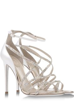 bdb4d2dd2 Shop Women s Rene Caovilla Sandal heels on Lyst. Track over 981 Rene  Caovilla Sandal heels for stock and sale updates.