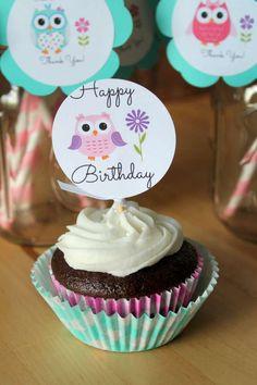 Owls Birthday Party Ideas   Photo 2 of 13
