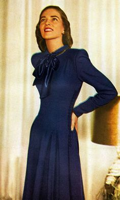 One of the most popular eras for reproduction and vintage wear, women's fashion in the 1940s combined style and practicality to achieve a lasting elegance. Description from pinterest.com. I searched for this on bing.com/images
