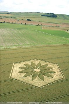 2012 reported crop circle.