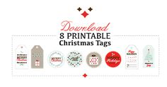 download 8 free printable christmas tags