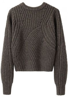 e00ecabbc3 Isabel Marant   Tifen Cropped Pullover-Side Note  Moving Ribs Would be The  Basics of Probably Most of My Design Work With Knits  )