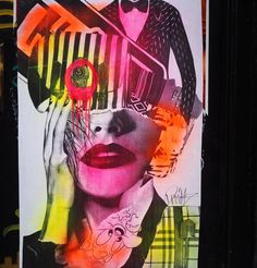 Blinded by the light... #streetart #graffiti #pasteups @dain_nyc #wheatpaste #eastvillage #nycstreetart #urbanart