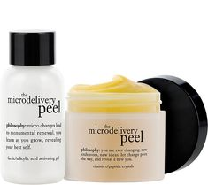 philosophy brings you an in-home vitamin C microdelivery peel. Ideal for sun-damaged, pigmented skin, this soothing treatment gives your face the royal treatment. Page 1 QVC.com