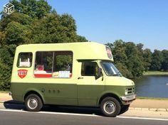 Camion glacier - Food truck - Bedford Morison 1979